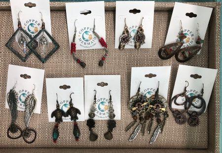 Copper Mermaid Art Gallery & Gifts Nags Head, Earrings