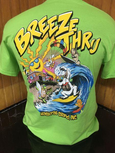 Breeze Thru Avon, Watersports Dog Tee