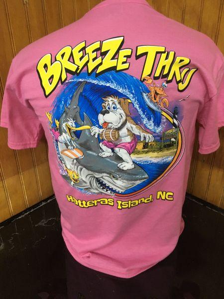 Breeze Thru Avon, Shark Rider Tee