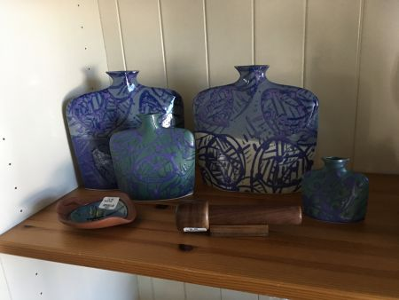 Slab Vases Seadragon Gallery In Duck Nc Outer Banks Shopping