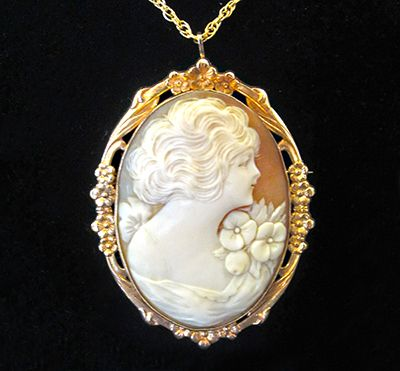 Muzzie's Fine Jewelry & Gifts, Antique Cameo