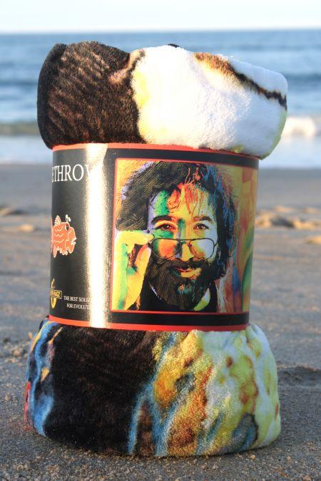 Cavalier Surf Shop, Jerry Garcia Fleece Throw