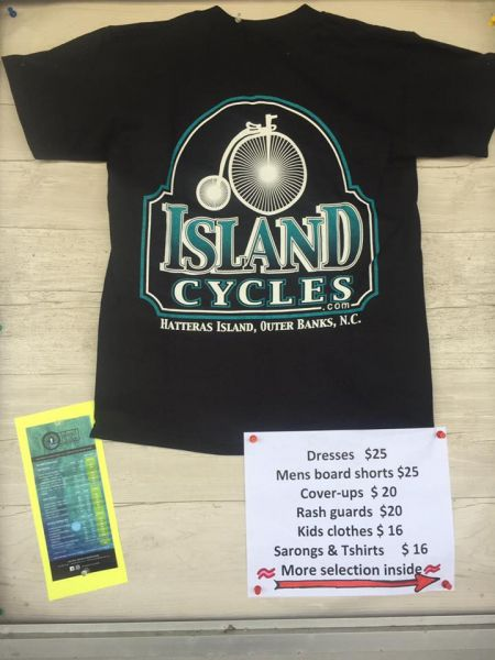 Island Cycles & Sports, T-Shirts and Apparel