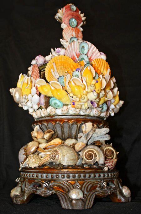 Muzzie's Fine Jewelry & Gifts, Italian Grotto Shell Art