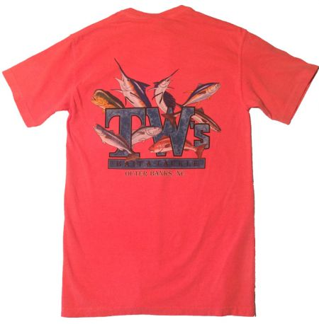 TW's Bait and Tackle, TW's Multifish T-Shirt