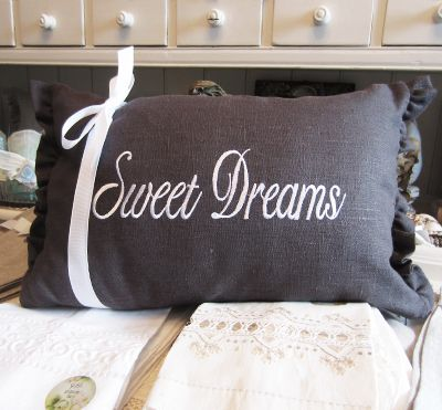 Muzzie's Fine Jewelry & Gifts, Sweet Dreams Pillow
