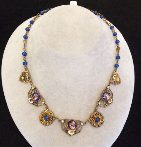 Muzzie's Fine Jewelry & Gifts, 1850's Czechoslovakian Necklace