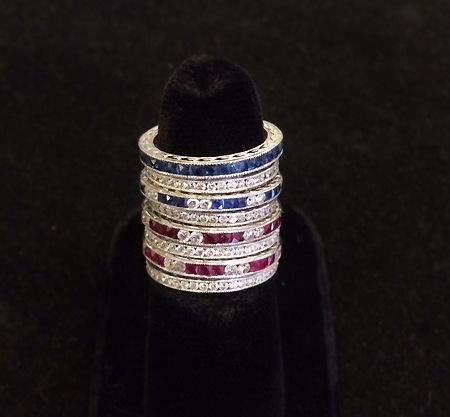 Muzzie's Fine Jewelry & Gifts, Eternity Bands!
