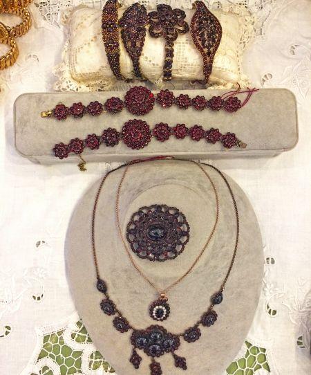 Muzzie's Fine Jewelry & Gifts, Victorian Garnet Jewelry