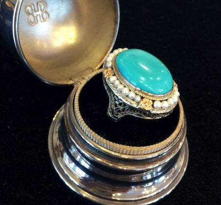 Muzzie's Fine Jewelry & Gifts, Antique Turquoise Ring