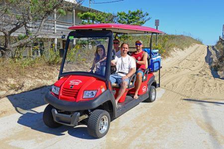 Ocean Atlantic Rentals, Golf Carts