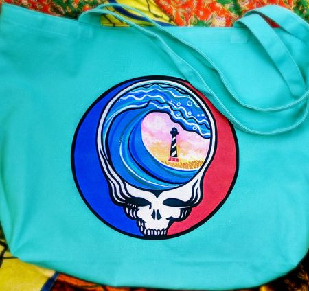 """Muse Originals, """"Steal Your Paradise"""" OBX Deadhead Tote"""