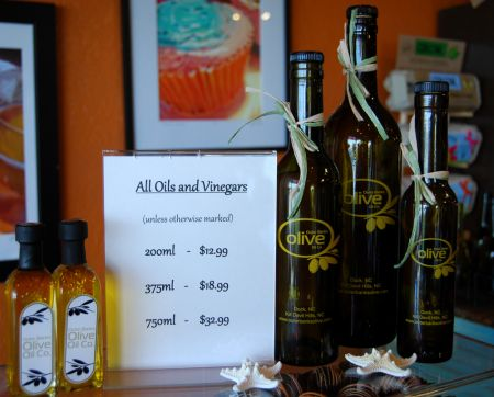 Chip's Wine, Beer & Cigars, Outer Banks Olive Oil Products