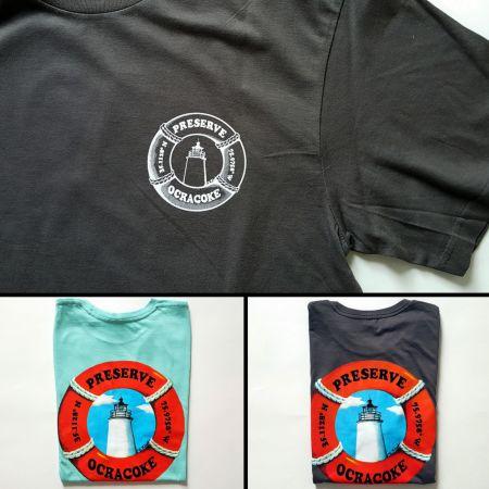 Ocracoke Preservation Society, Preserve Ocracoke T-shirt