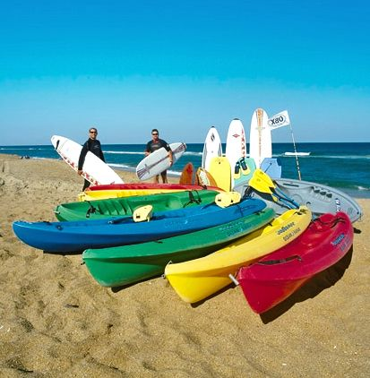 Ocean Atlantic Rentals, Kayaks for Ocean & Sound