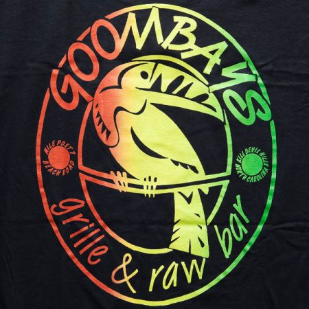 Goombays Grille & Raw Bar, Rasta Toucan Shirt