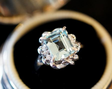 Muzzie's Fine Jewelry & Gifts, Aquamarine Ring