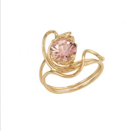 Jewelry By Gail, Pink Tourmaline Ring