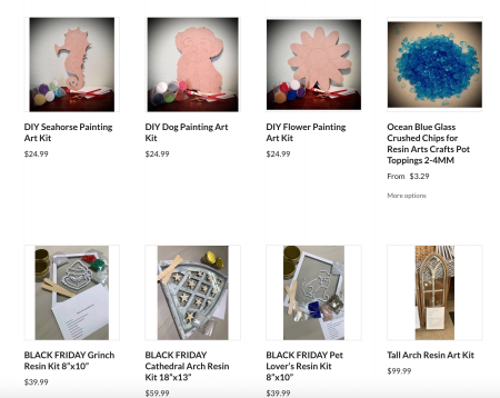 Absolutely Outer Banks, Art Kits