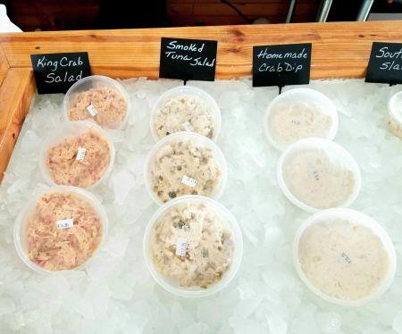 Whalebone Seafood Market Outer Banks, Seafood Salads