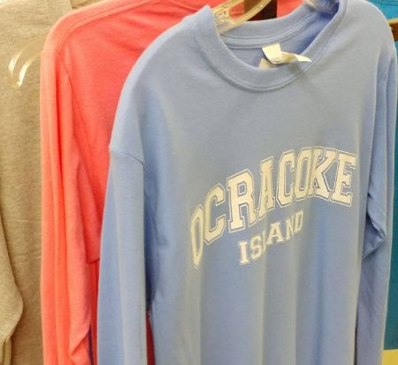 Ocracoke Variety Store, Ocracoke Souvenir T-Shirts