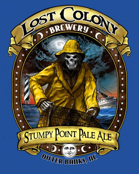 Lost Colony Brewery and Cafe, Stumpy Point Pale Ale T-Shirt