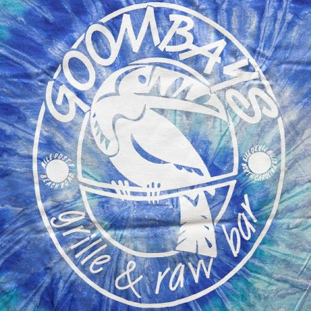 Goombays Grille & Raw Bar, Adult Tie Dye Tee