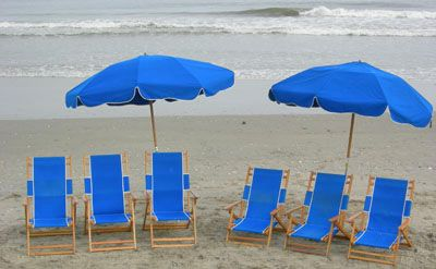 Ocean Atlantic Rentals, Beach Umbrella Service