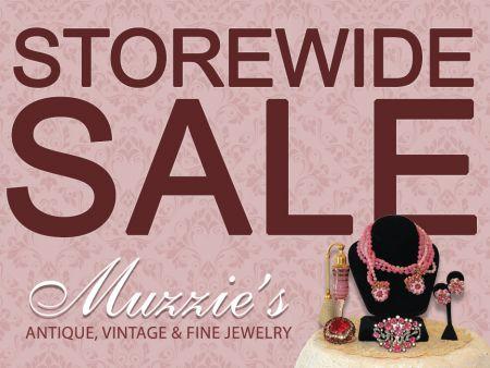 Muzzie's Fine Jewelry & Gifts, Semi-Retirement Sale