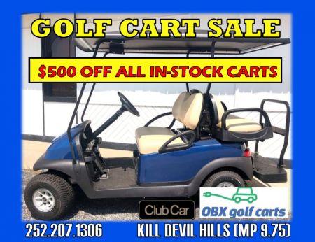 Ocean Atlantic Rentals, Golf Cart Sale