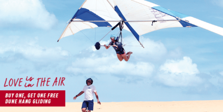Kitty Hawk Kites, Buy 1, Get 1 Hang Gliding
