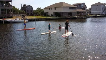 Island Cycles & Beach Gear, Stand-Up Paddleboarding