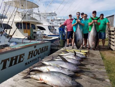 The Hooker, Offshore Charters