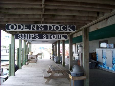 Oden's Dock, Stock Up at the Ship's Store