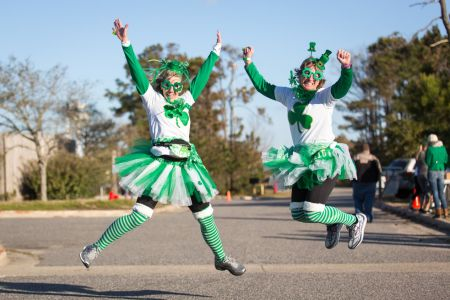 Outer Banks Sporting Events, Running of the Leprechauns
