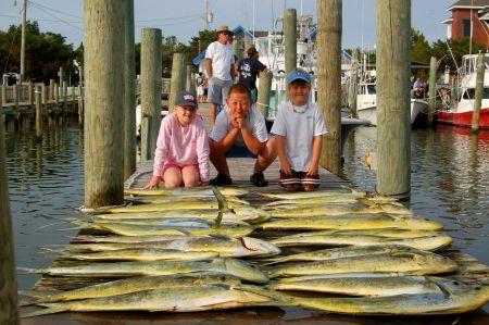 Fish Ocracoke, 3/4 Day Offshore Fishing Charter
