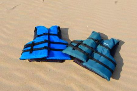 Moneysworth Beach Equipment and Linen Rentals, Personal Flotation Device