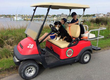 Ocracoke Island Golf Carts, Family-Friendly Golf Cart Rentals