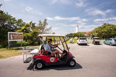 Ocracoke Island Golf Carts, See Ocracoke from Our Carts!