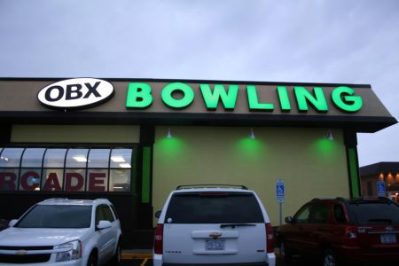 OBX Bowling Center, Nags Head Outer Banks, Late Night Rock n' Bowl