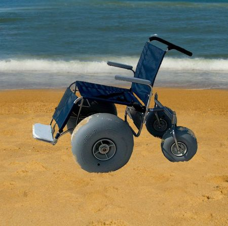 Moneysworth Beach Equipment and Linen Rentals, Beach Wheelchair