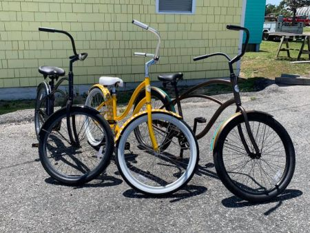 Island Cycles & Beach Gear, Beach Cruiser Rentals
