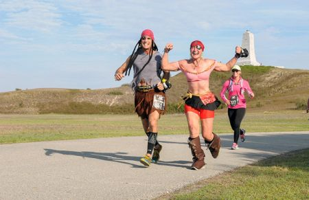 Outer Banks Sporting Events, Flying Pirate Half Marathon