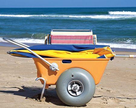 Moneysworth Beach Equipment and Linen Rentals, Beach Utility Cart