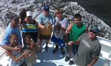 Crystal Dawn Head Boat Fishing and Evening Cruise, Afternoon Headboat Fishing Trip