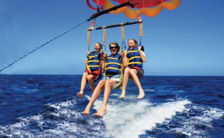 Causeway Watersports, Nags Head Outer Banks, Triple Parasail Flights