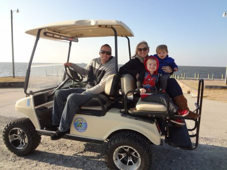 Wheelie Fun Cart Rentals, Family Cart Hourly Rental