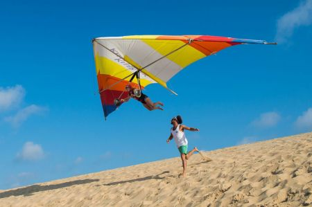 Kitty Hawk Kites, Hang Gliding