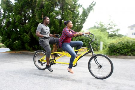 Enjoy the Ride Outer Banks Rentals, Synchronize Your Ride! Rent a Tandem Bike