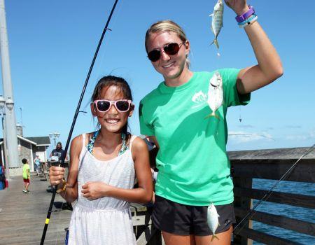 Jennette's Pier, Family Fishing Program